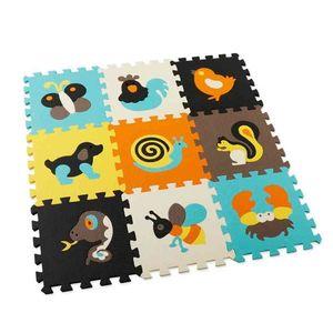 Cartoon Animal Pattern Play Mat Puzzle EVA Foam Floor Pad For Children Baby Gym Crawling Mats Toddler Carpet Random Color 210924