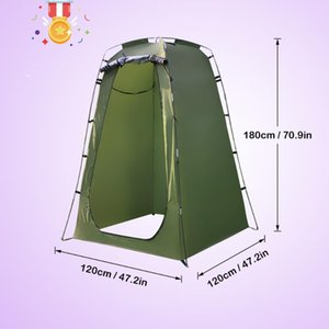 outdoor Portable Shower Toilet Camping Tent For Shower 6FT Privacy Changing Room For Camping Toilet Beach anti UV