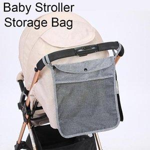 Stroller Parts & Accessories Infant Pram Cart Mesh Hanging Storage Bag Baby Trolley Carriage Organizer Pocket P3q5
