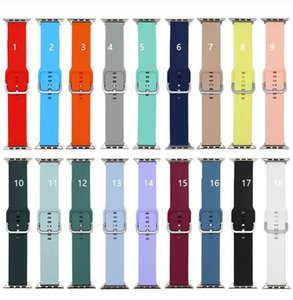 Silicone bands for Apple Watch band Luxury Replacement Smart Strap compatible with iWatch S 6 5 4 3 2 1 Wild Style Durable Pin Buckle