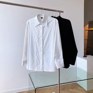 MOOIRALE 2021 Spring Fashion Femmes Chemises Roller Plaquette Nouveau Coréen Casual Casual Femme Chemise Blanche L4DG