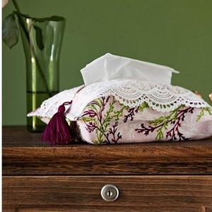 Tissue Boxes & Napkins Kitchen Home Box 19x25cm Facial Tissues Napkin Case Morden