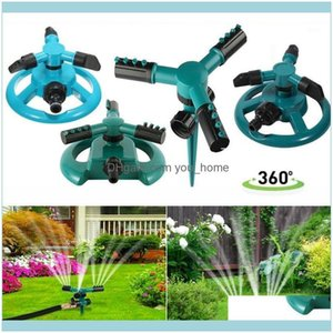 Equipments Supplies Patio, Lawn Home & Gardenmatic Watering System 360 Degree Rotating Water Sprinkler 3 Arms Nozzles Garden Irrigation Tool