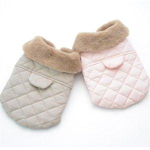 Perrito mascota abrigo de invierno chaqueta cálida ropa de perro cachorro ropa gato chihuahua yorkshire maltés pomeranian schnauzer caniche traje