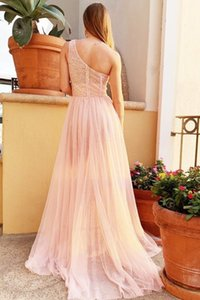 Yls2021 Neue Frauen Slant Schulter Sleeve vergoldete Kleid langer Rock