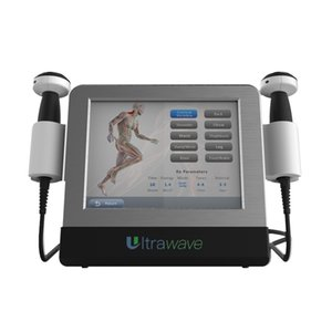 Home use physical ultrasoud wave physiotherapy Massager Machine for low back pain ankle sprain and plantar fasciitis