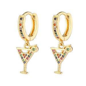 Boucles D 'Oreilles Femmes, Gouttes D'Oreleille Micro Zircon Design