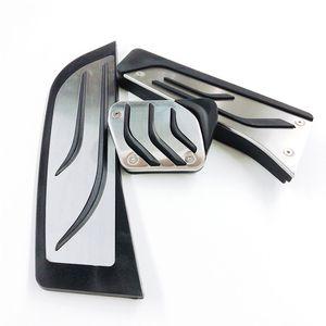 RHD Stainless Steel Foot Brake Accelerator Pedals For BMW 3 Series E46 E87 E90 E91 E92 E93 M3 AT MT No Drilling Gas Brake Pedal