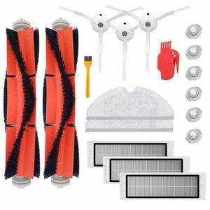 18 шт. Замена деталей пылесосов для Mi Robot Roborock S50 S51 Roborock 2 Roborock S6 Max Vacuum Cleaner Accessory Kit