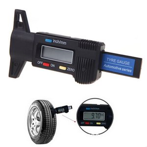 2021 NEW Car Digital Tyre Tire Tread Depth Gauge Measurer Caliper LCD Display 0-25.4mm