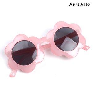 Giausa New Carute Bambini Occhiali da sole Estate Girls Boys Protezione UV Baby Fashion Eyewear UV400