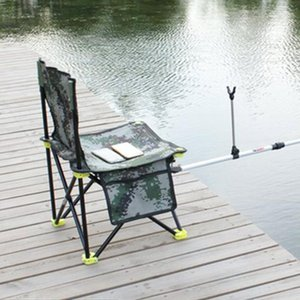Camp Meubles Couleur Solid Oxford Tissu En plein air Chaise de pêche Tabouret Portable Pratique Seat Randonnée Camping Pliage Durable