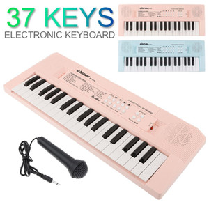 37   49   54   61 Keys Electronic Keyboard Piano Digital Music Key Board with Microphone Children Musical Enlightenment
