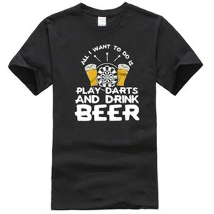 Play Darts and Drink Beer Men's t Shirt Xs Fashion Summer T-shirt