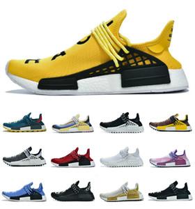 2021 nmd pharrell williams solar pack mãe bbc preto amarelo homens mulheres corredor humano nerd preto branco creme amarelo treinador esportes sapatilhas