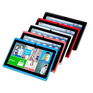 7 inch Kids Tablet PC Q88 Android 4.4 512MB+4GB Allwinner A33 Quad Core Google Player Bluetooth Wifi Free Delivery