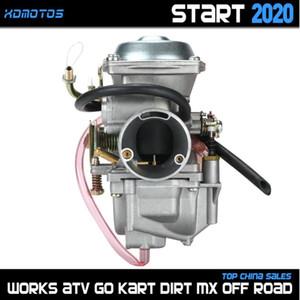 Motosiklet Yakıt Sistemi Karbüratör Carb 34mm Jianshe Hensim 400 JS400 HS400 ATV Quad Yamabuggy 400cc Go Kart Parçaları