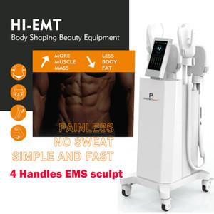 HI-EMT Ems sculpt EMSlim Muscle Stimulate Machine Electromagnetic Hiemt Slimming Machine Fat burning Slim Beauty Equipment