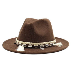 felt hats new jazz caps trilby western cowboy panama women hats winter autumn church wedding vintage fedora hat for women men