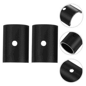 Bike Handlebars &Components 1 Pair Handlebar Stem Reducer Aluminum Alloy Adapter (Black)