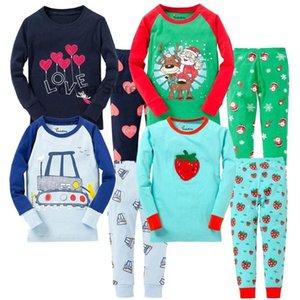Pajamas Boys Pyjama Kids Halloween Christmas Pajama Cotton Sets Toddler Sleepwear Children Cartoon Nightwear Long Sleeve Pjs