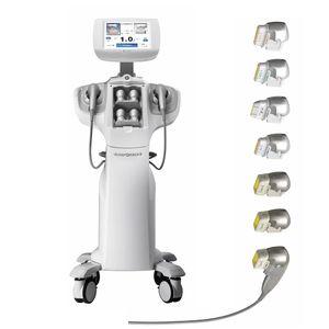 7D HIFU Face Lifting Machine con 7 cartucce Trattamento per il viso Sollevamento antirughe Remover Anti-rughe Body Dimagrante dispositivo di bellezza