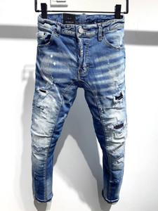 2020 Nouvelle marque de jeans occasionnels pour hommes européens et américains à la mode, lavage de haute qualité, meulage pure des mains, optimisation de la qualité L9623
