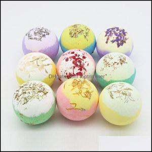 Salts Body Health & Beauty Moisturizing Dry Flower Bubble Bomb Ball Essential Oil Spa Relief Exfoliating Bath Salt Bathing Aessories Drop De