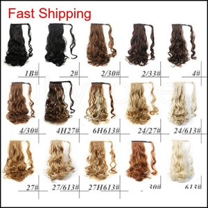 Ponytail Synthetic Hair Clip In Pony Tail Hair Ponytail Wig High Temperature False Hair Synthetic Wig qylMAy babyskirt
