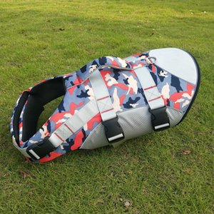 supplies life jacket Pet chest strap traction rope outdoor dog swimsuit