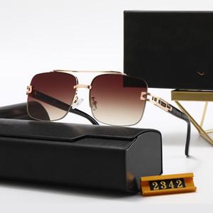 Designer di alta qualità Top New Dita Fashion Sunglasses 2342 Man Donna Casual Occhiali da sole Brand Lense per Personalità Eyewear con scatola scatola