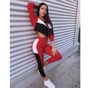 Women Two Piece Outfits Spring Short Hoodies & Pants Women Sport Suit Slim Clothing Set Ladies Tracksuit Costume 2021 S-XL