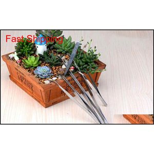 Straight Bend Stainless Steel Tweezers Moss Micro Landscape Ornaments Special Gardening Tools Diy Zakka Fai qylpZH dh_seller2010