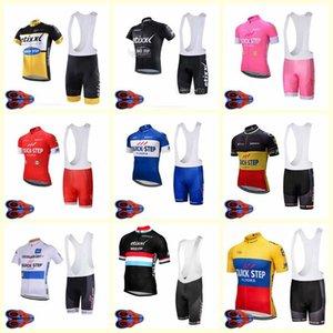 2020 Quick Step Team Велоспорт Короткие Рукава Джерси Шорты Установить Велосипед Одежда Летнее Ciclismo ROPA Hombre Maillot Sportwear U20042007