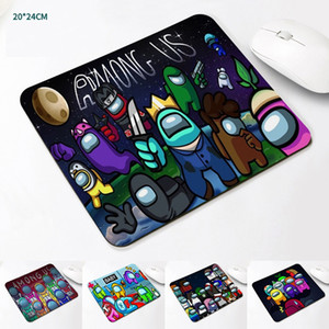 2021 Newest Game Among us Mouse Pad Mat Mini Student Notebook Computer Pad Table Mat Advertising Gift Cup Pad Mat