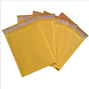 150*250mm Kraft Paper Bubble Envelopes Bags Mailers Padded Shipping Envelope With Bubble Mailing Bag Business Supplies free shipping