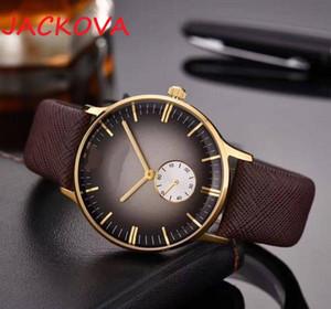 mens watch genuine leather strap 316L stainless steel case auto date men dress designer watch wholesale Top Brand Quartz Wristwatch for men
