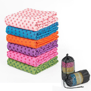 Thickened yoga mat towel blanket non-slip microfiber surface rectangular carpet sofa blanket Carpets GWA3935