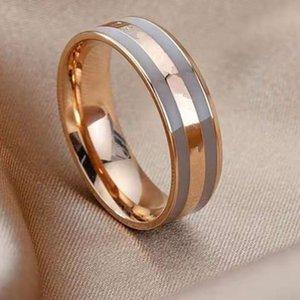 편지 인쇄 반지 새로운 패션 링 고품질 티타늄 강철 반지 우아한 모양 커플 보석 공급 W304
