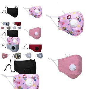 Masque Face ER Er Face Masque Designer PM2.5 Poussure anti-poussière anti-l lavable réutilisable de glace de glace CO XI4H 1GUP1 KN4W