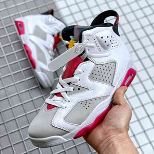 Scarpe Jumpman 6 Neutro Grigio Mens Womens Baskes Basket 6s SneakersMid2