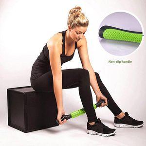 Yoga Muscle Massage роликовая палочка массажер фитнес глубокие мышцы релаксация спортивный ролик массаж фастуальной палкой