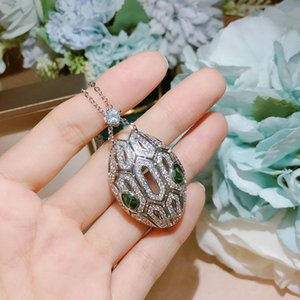 Hot Popular python Necklace Top high quality Jewelry For Women Snake Pendants Thick Necklace Suit Fine Custom luxurious Jewelry Earrings