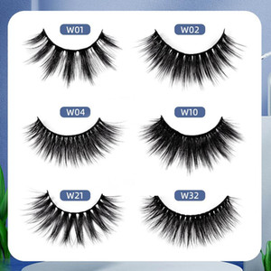 Mink Lashes Thick Individual Natural Cosplay Makeup Eyelash Spoolies Easy Fan Dramatic Lash Lift Eyelashes Extensions Accesories