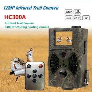 Mini Cameras 12MP Infrared Trail Camera 2.0'' TFT 1080P HD Video Cam Night Vision Outdoor Scouting Wildlife Animal Hunting Camara Espia