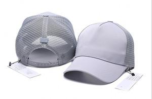 Wholesale New Fashion mens designer Snapback Caps mesh Strapback Baseball Cap Outdoor Sport Hip hop gorras Hats Women bone hat casquette