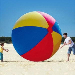 Novelty Place Giant Inflatable Beach Ball Pool Toy for Kids & Adults Beach Pool Play Ball Inflatable Children Pvc Educational Soft Ball