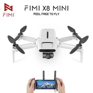 FIMI X8 الأصلي ميني بدون طيار مع 4K FPV HD كاميرا GPS Dron 3-Axis Gimbal 30mins 8km RC Quadcopter 245g Helicopter المهنية (بما في ذلك ضريبة القيمة المضافة)
