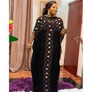 Muslim Hijab Dress MD Free Size Loose Caftan Abayas Black Abaya Dubai Turkey Djellaba Woman Moroccan Boubou Arabic Evening Gowns