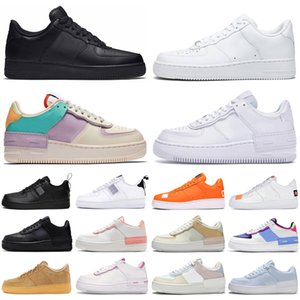 af1 2020 Force Forces 1 Dunk Low One Shadow Männer Frauen Schuhe Dienstprogramm Triple Pale Elfenbein Outdoor Herren Damen Turnschuhe Sport Turnschuhe